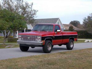 1983 Chevrolet Silverado 4x4